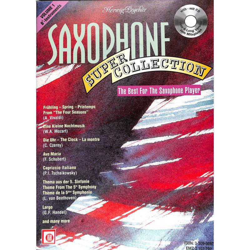 Titelbild für EMZ 2107792 - SAXOPHON SUPER COLLECTION 1