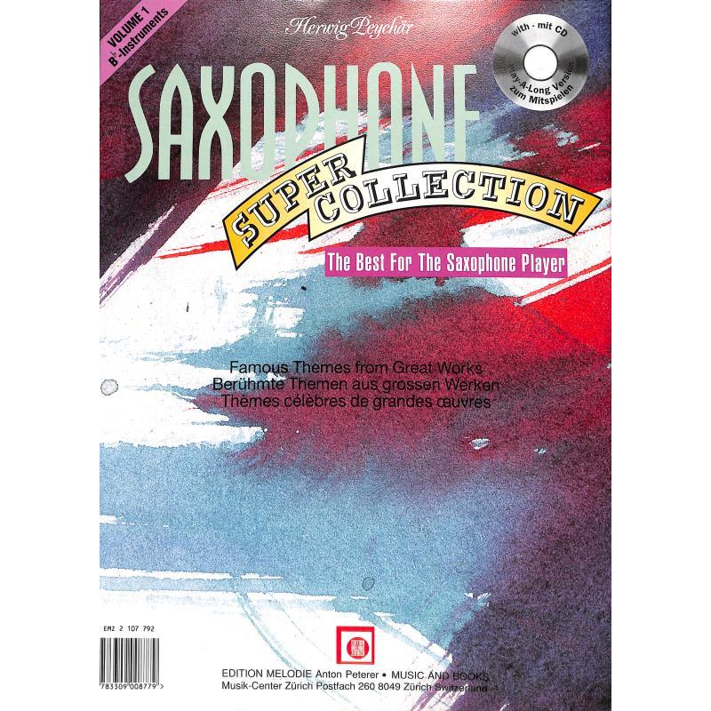 Notenbild für EMZ 2107792 - SAXOPHON SUPER COLLECTION 1