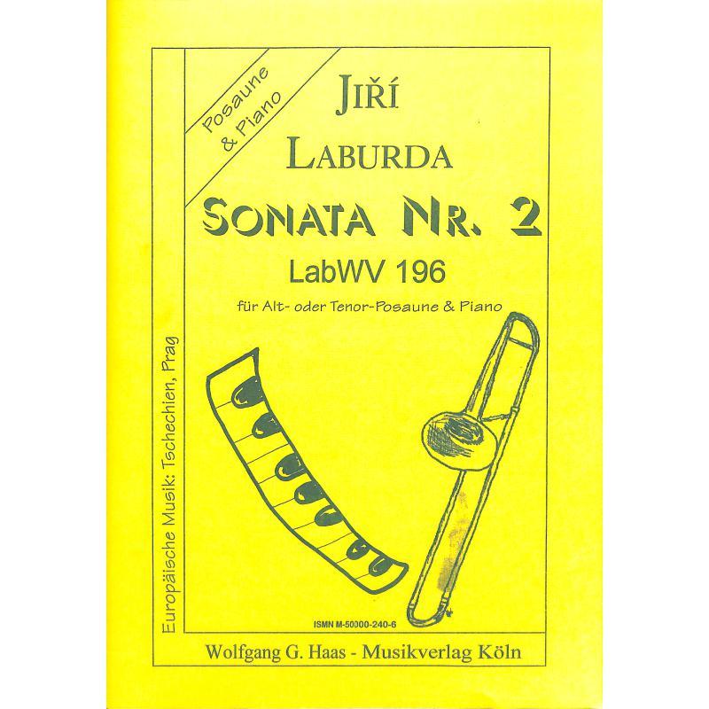 Titelbild für HAAS 240-6 - SONATE 2 LABWV 196