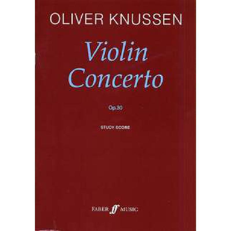 Titelbild für ISBN 0-571-52360-9 - VIOLIN CONCERTO OP 30