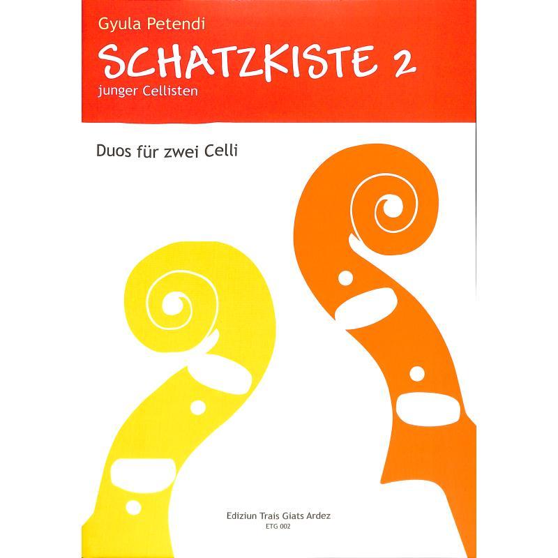 Titelbild für ETG 002 - SCHATZKISTE JUNGER CELLISTEN 2
