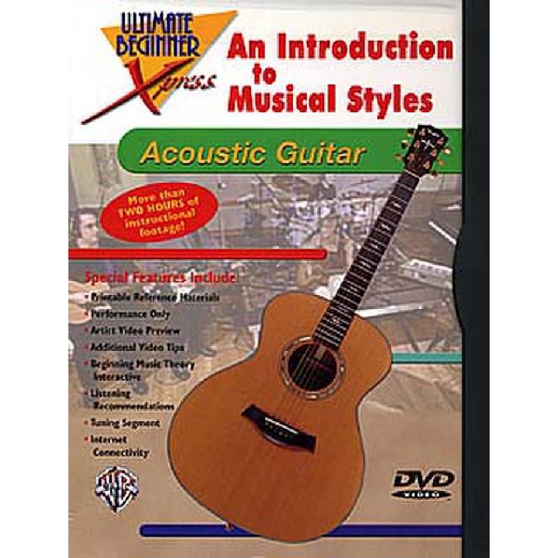 Titelbild für DVD 999043 - ACOUSTIC GUITAR - AN INTRODUCTION TO MUSICAL STYLES
