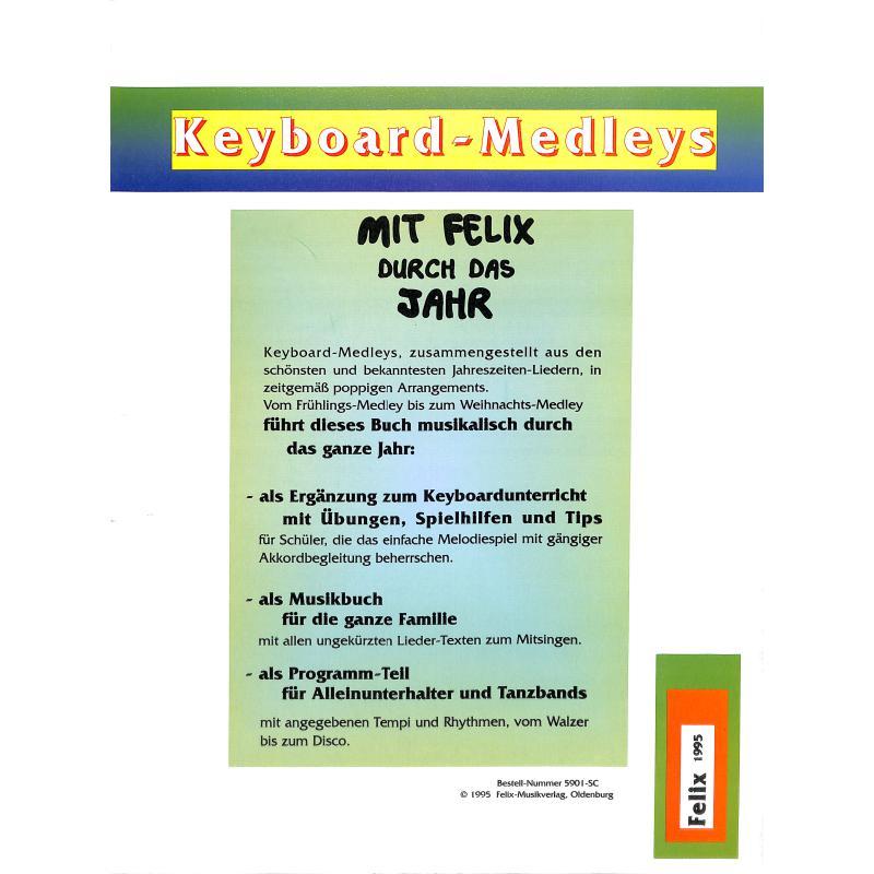 Notenbild für FELIX 5901 - MIT FELIX DURCH DAS JAHR