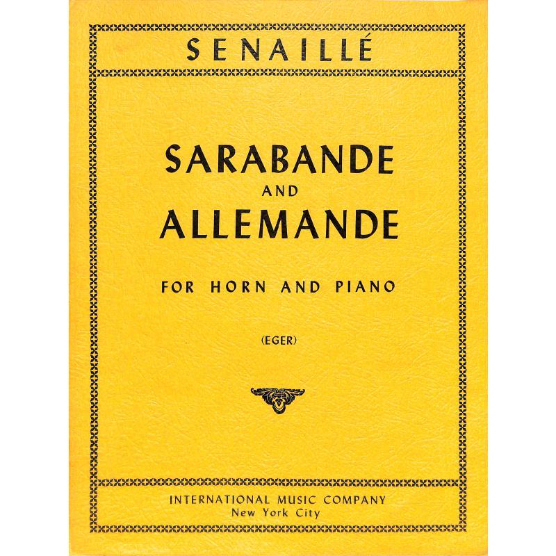 Titelbild für IMC 2406 - SARABANDE & ALLEMANDE