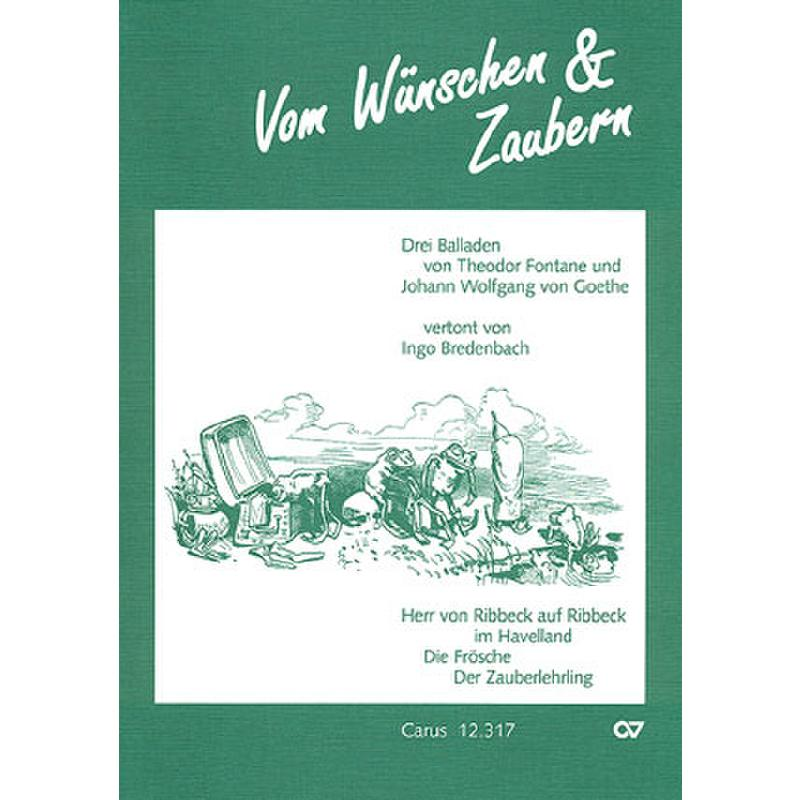 Titelbild für CARUS 12317-00 - VOM WUENSCHEN + ZAUBERN