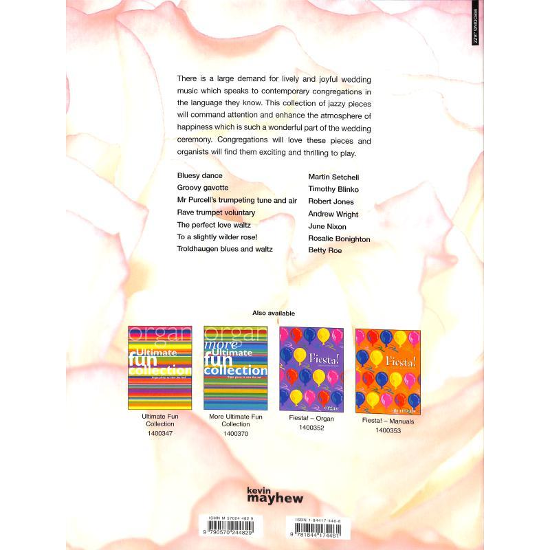 Notenbild für KM 1400385 - WEDDING JAZZ - 7 BUBBLY PIECES