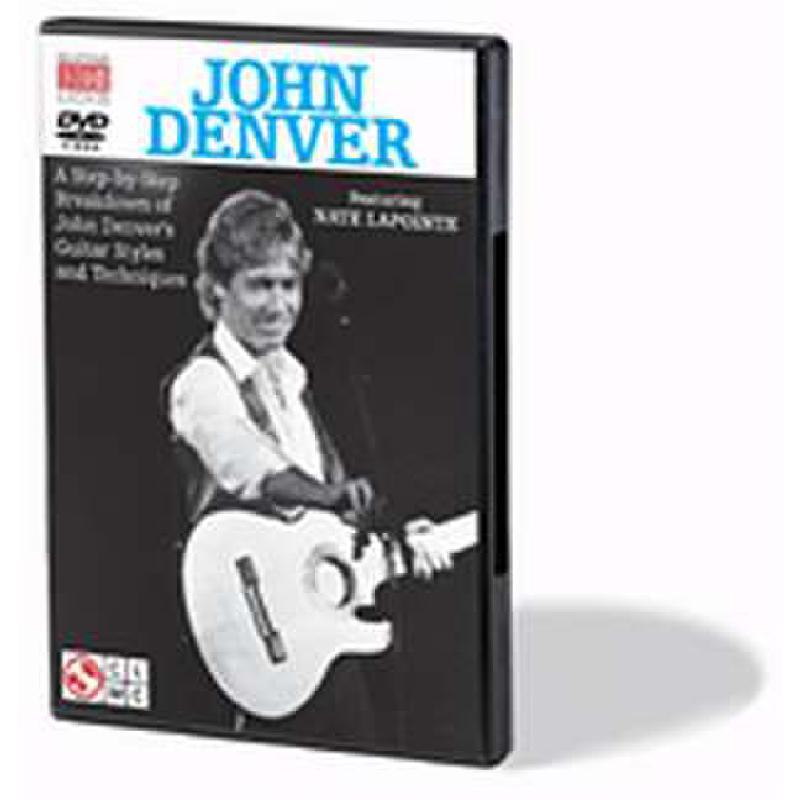 Titelbild für HL 2500917 - A STEP BY STEP BREAKDOWN OF JOHN DENVER'S GUITAR STYLES AND