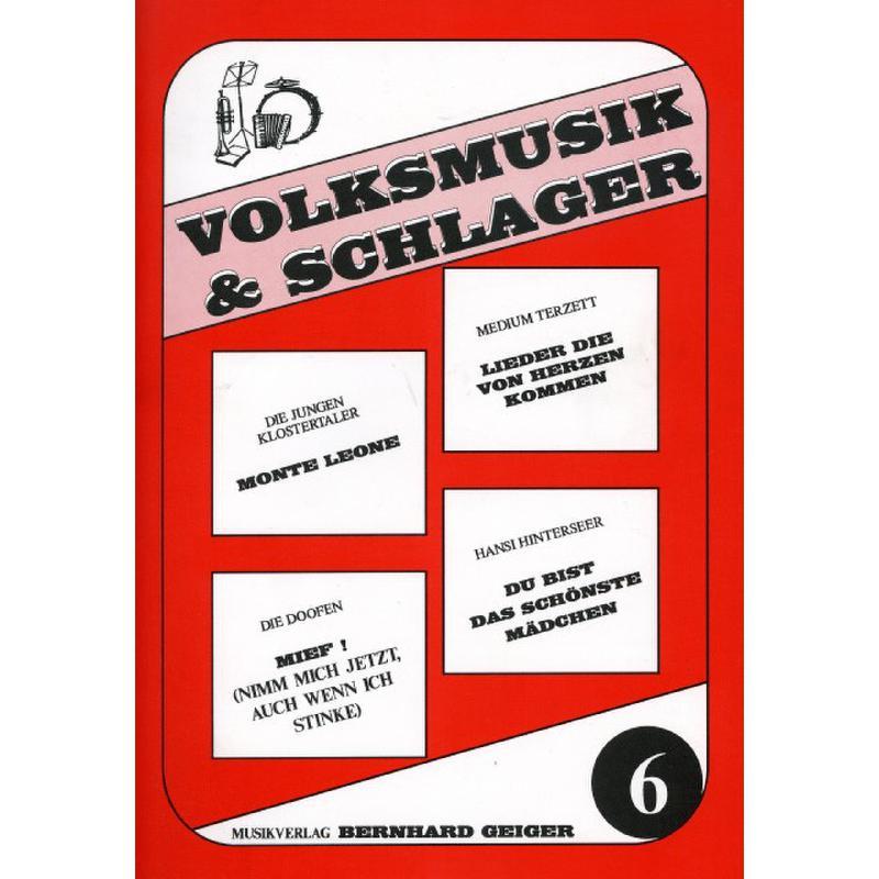 Titelbild für GEIGER -VS6 - VOLKSMUSIK + SCHLAGER 6