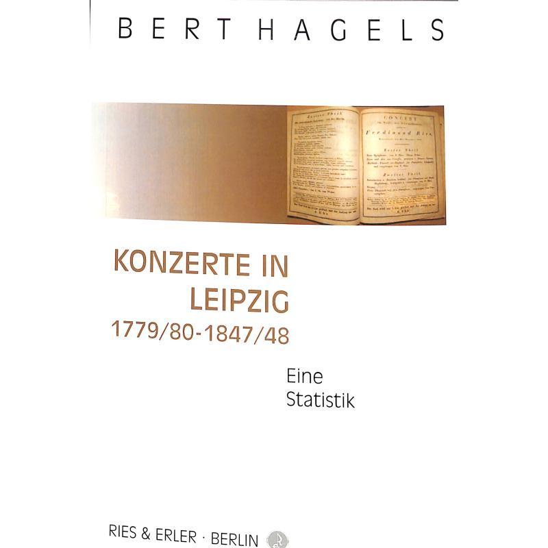 Titelbild für RE 70039 - KONZERTE IN LEIPZIG 1779/80 - 1847/48