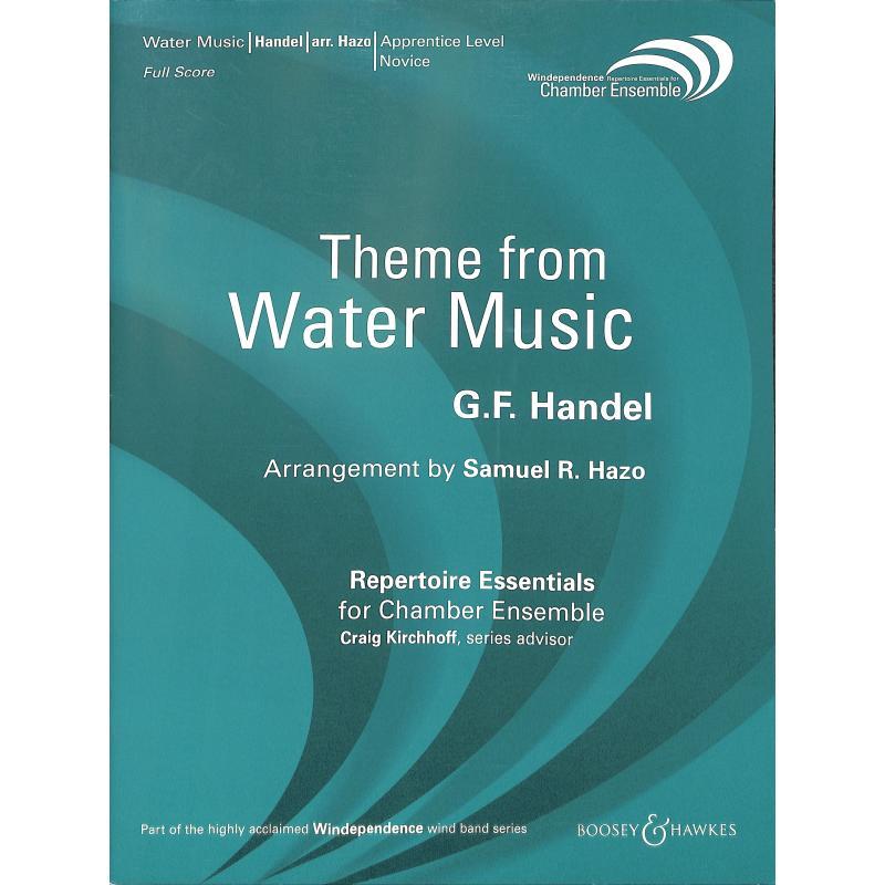 Titelbild für BH 3200004 - WASSERMUSIK - THEMA