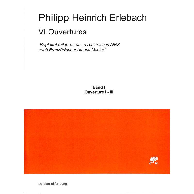 Titelbild für OFFENB -ER-6041-P1 - 6 Ouvertüren (1-3)