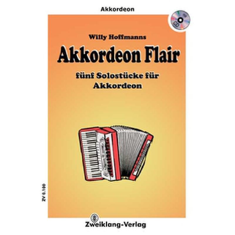 Titelbild für ZWEIKLANG 0100-CD - AKKORDEON FLAIR