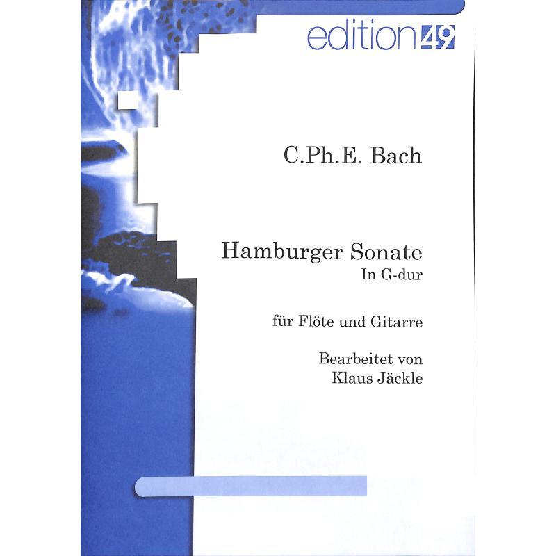 Titelbild für ANTES 0445-5 - HAMBURGER SONATE