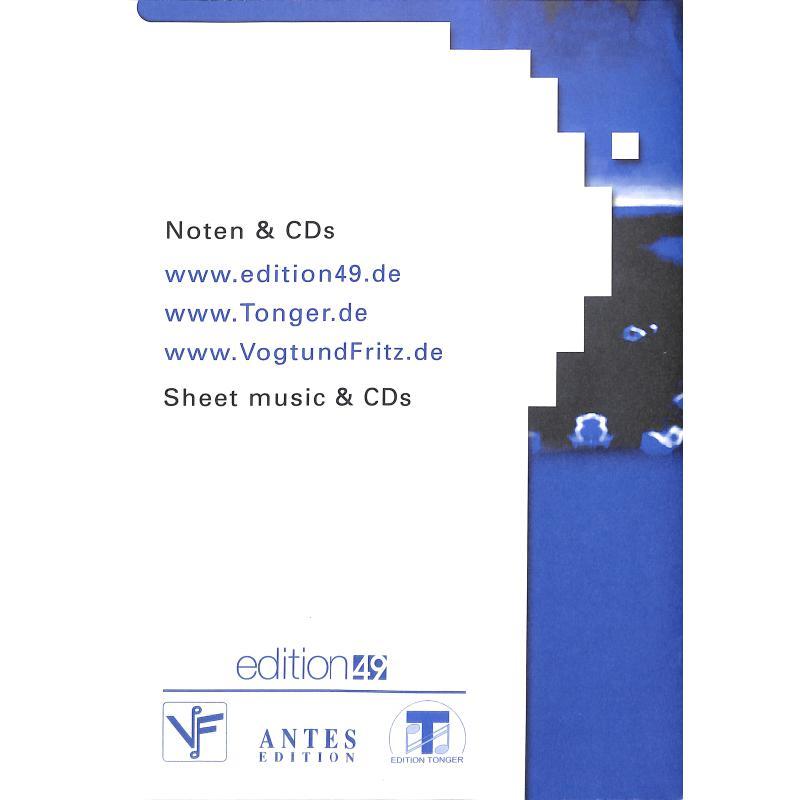 Notenbild für ANTES 0445-5 - HAMBURGER SONATE