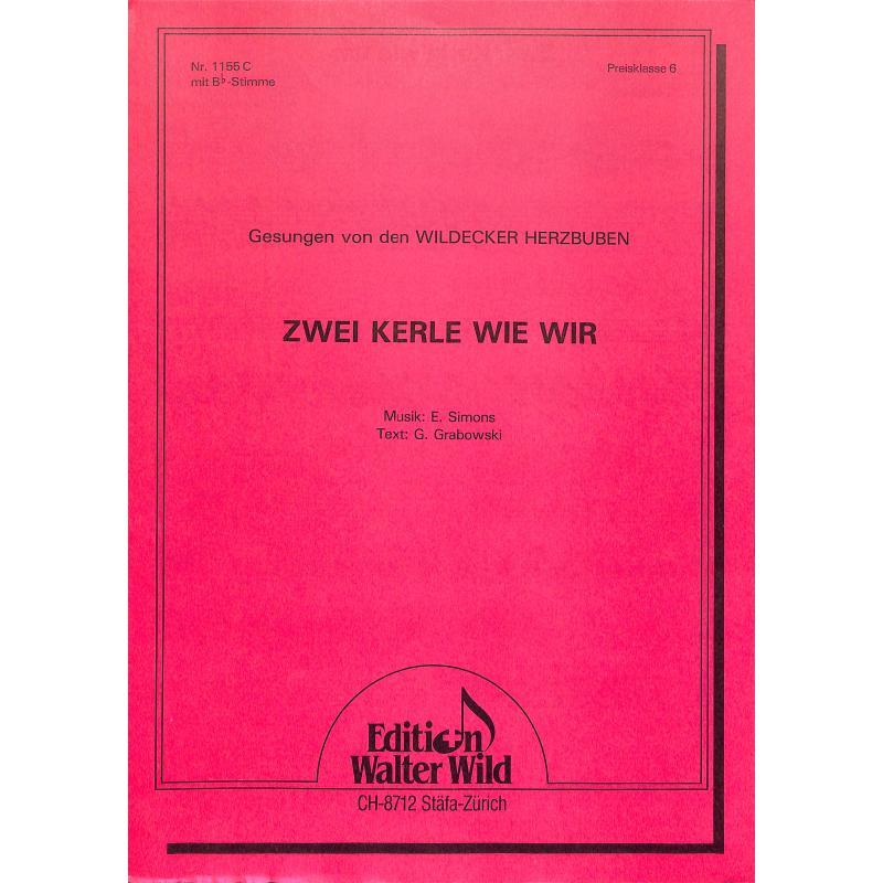 Titelbild für WILD 1155C - ZWEI KERLE WIE WIR