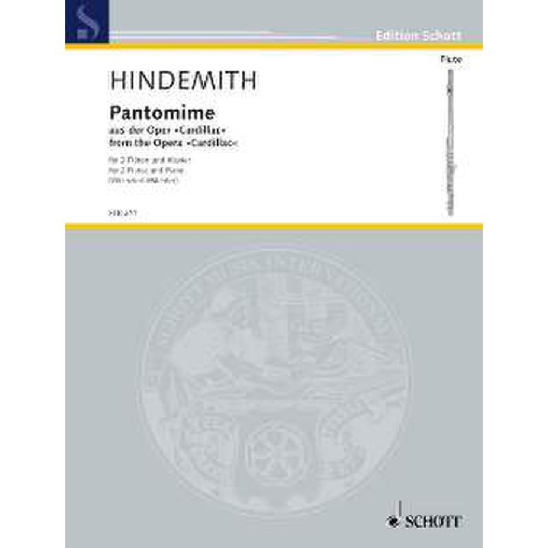 Titelbild für FTR 211 - PANTOMIME (AUS CARDILLAC)