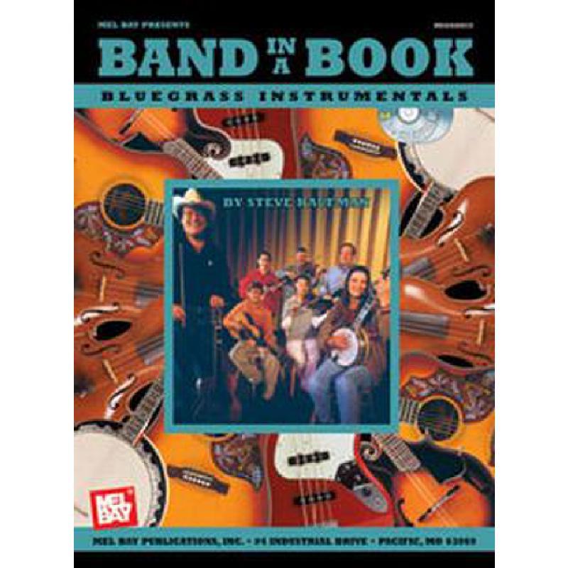 Titelbild für MB 20426BCD - BAND IN A BOOK - BLUEGRASS INSTRUMENTALS