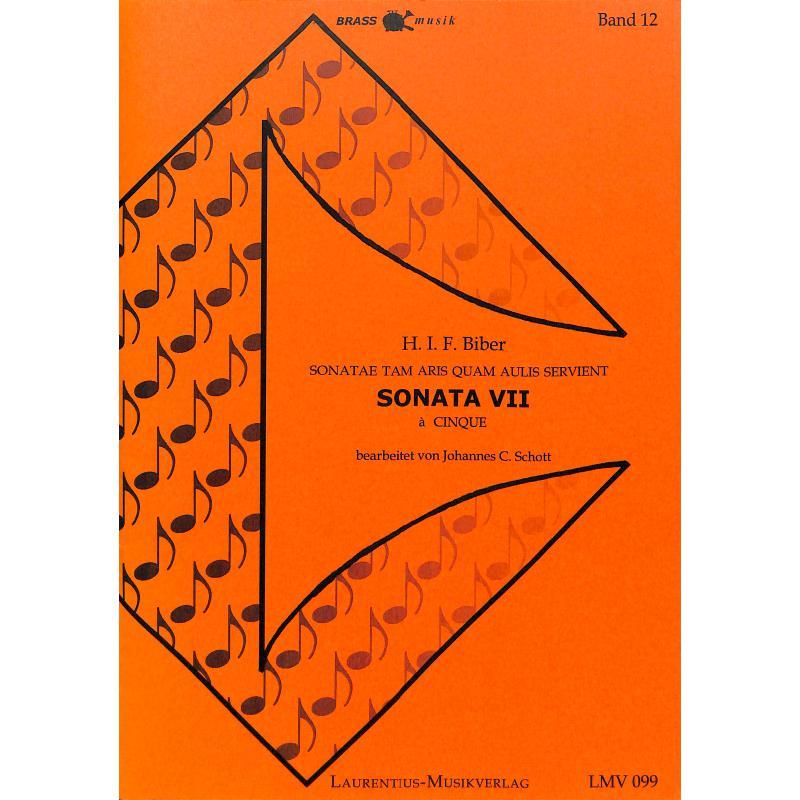 Titelbild für LMV 099 - SONATA 7 (SONATAE TAM ARIS QUAM