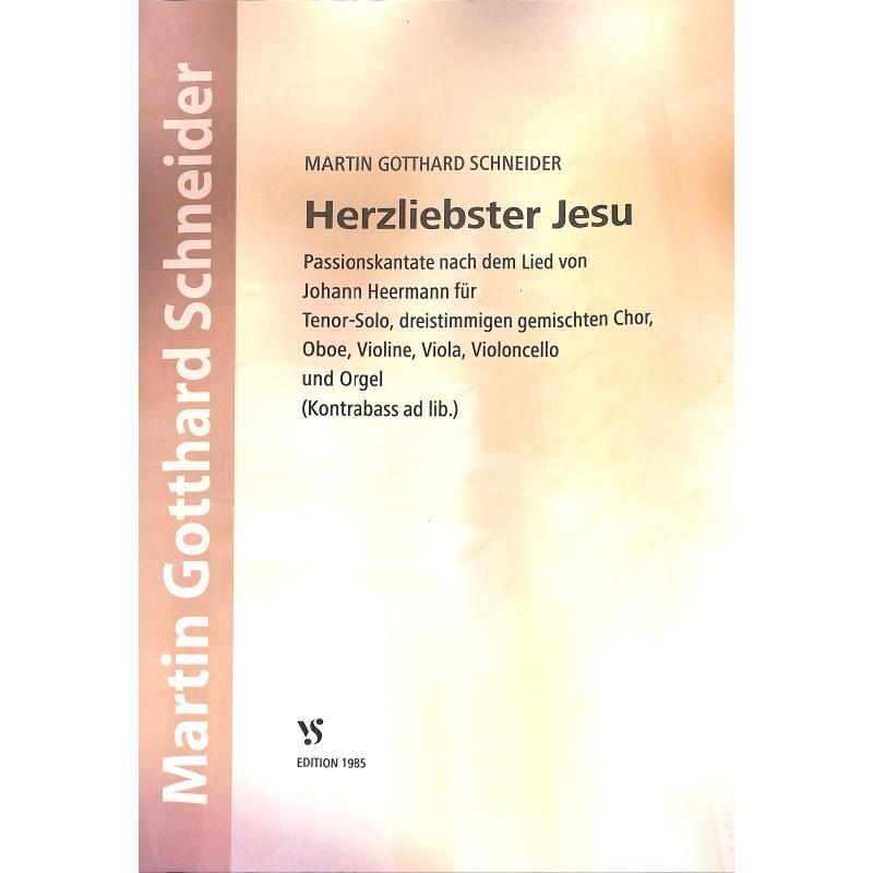 Titelbild für VS 1985 - HERZLIEBSTER JESU - PASSIONSKANTATE