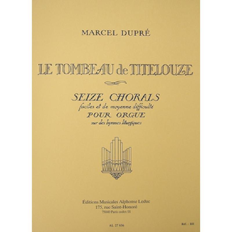 Titelbild für AL 27836 - LE TOMBEAU DE TITELOUZE