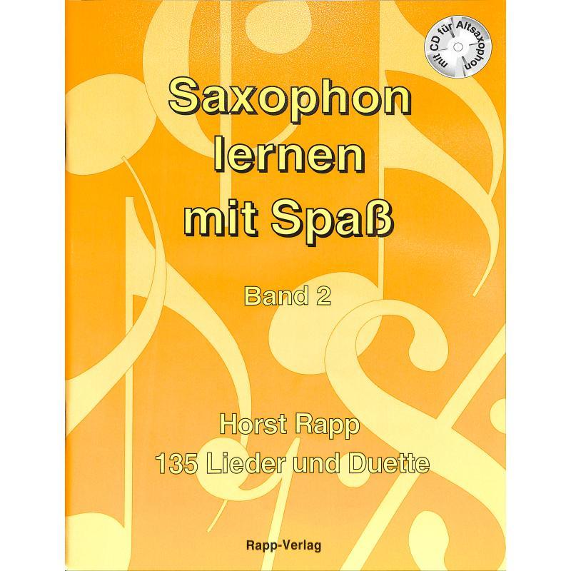 Titelbild für RAPP -SS2 - SAXOPHON LERNEN MIT SPASS 2