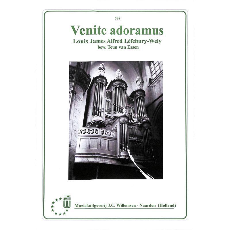 Titelbild für WILLEMSEN 598 - VENITE ADORAMUS