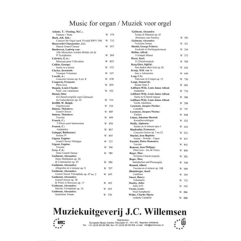 Notenbild für WILLEMSEN 598 - VENITE ADORAMUS