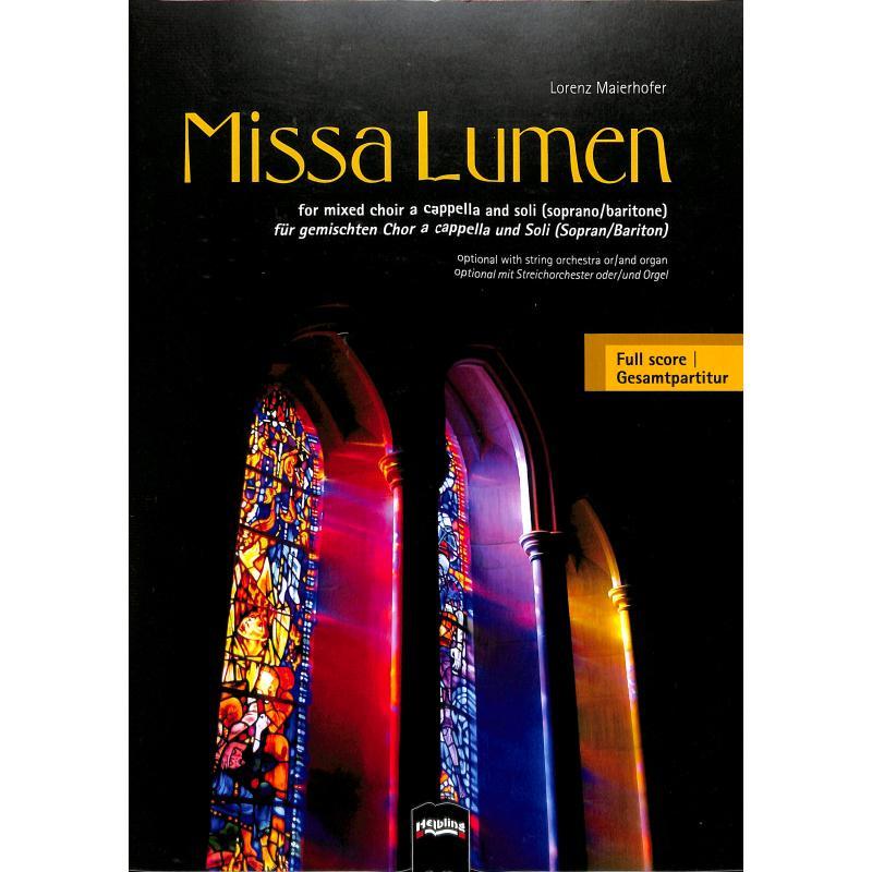 Titelbild für HELBL -C5897 - MISSA LUMEN