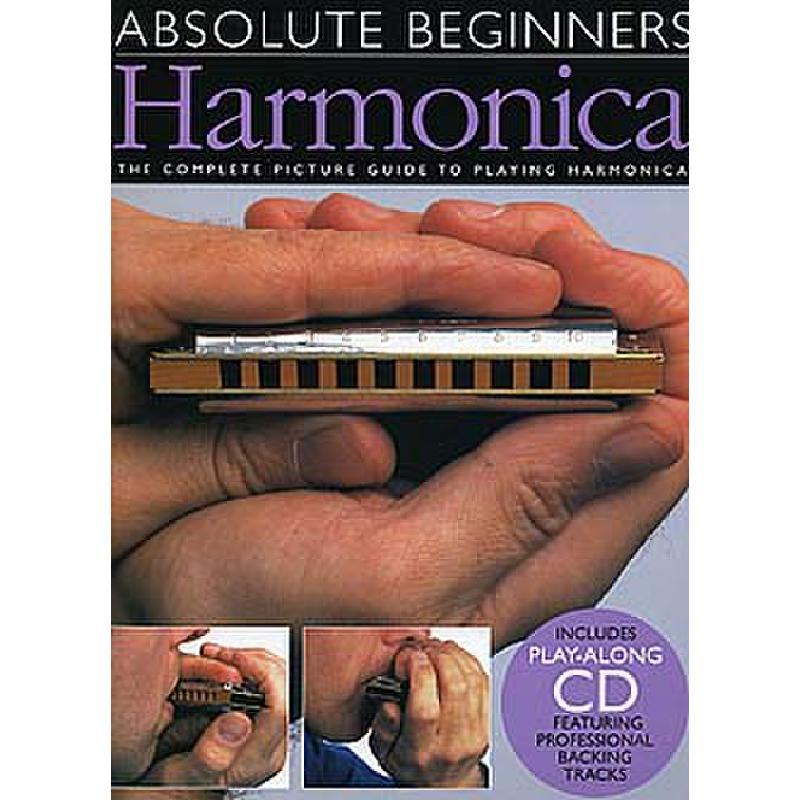 Titelbild für MSAM 92619 - ABSOLUTE BEGINNERS HARMONICA