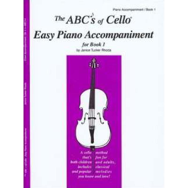 Titelbild für CF -ABC14 - ABC OF CELLO 1 - ACCOMPANIMENT