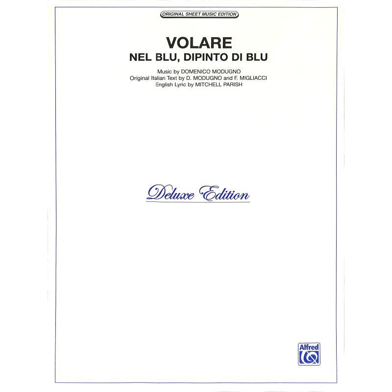 Titelbild für T 5225VPV - VOLARE (NEL BLU DIPINTO DI BLU)