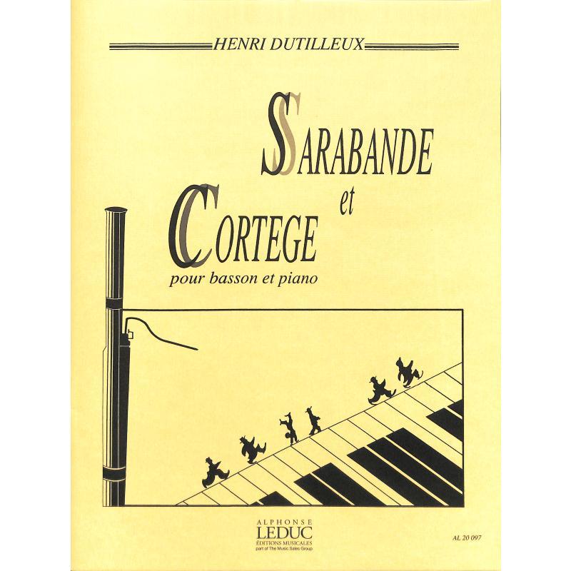 Titelbild für AL 20097 - SARABANDE ET CORTEGE
