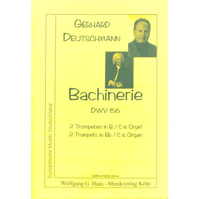 Titelbild für HAAS 934-4 - BACHINERIE DWV 156