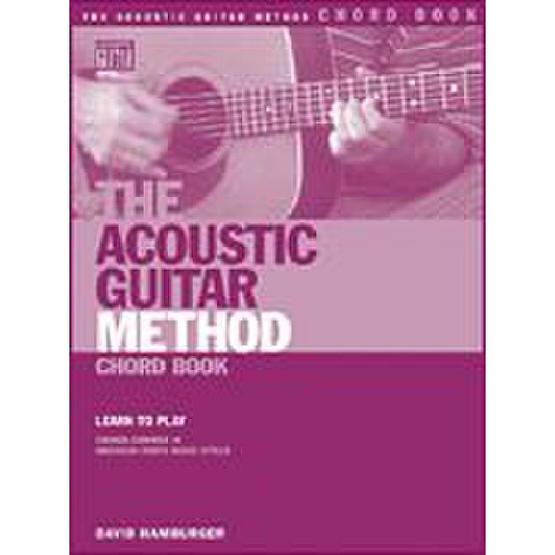 Titelbild für HL 695722 - ACOUSTIC GUITAR METHOD CHORD BOOK