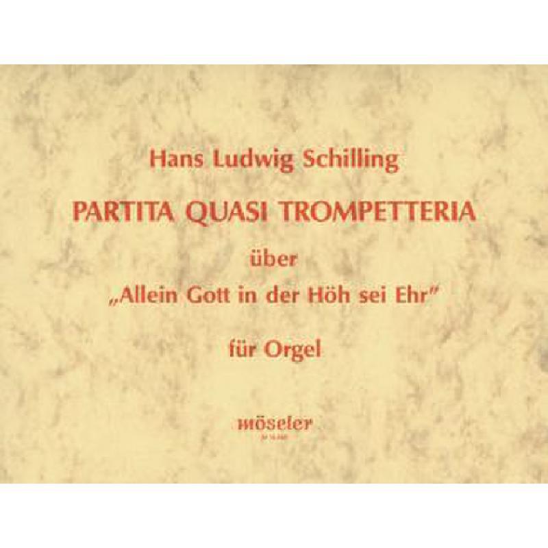Titelbild für M 19486 - PARTITA QUASI TROMPETTERIA