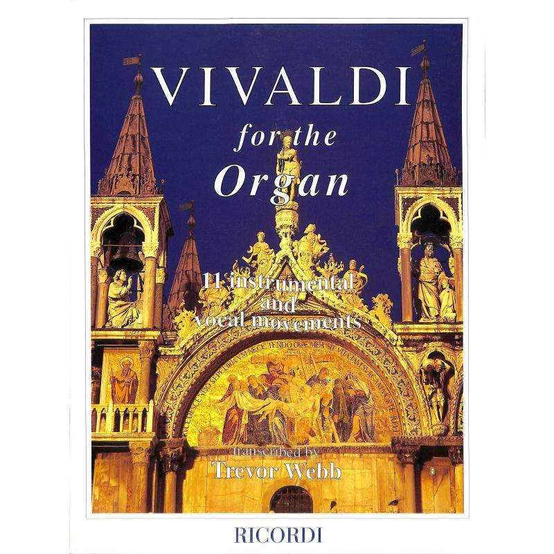 Titelbild für LD 912 - VIVALDI FOR THE ORGAN