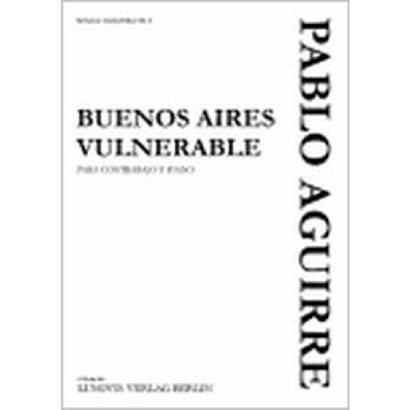 Titelbild für LVB -PA098 - BUENOS AIRES VULNERABLE