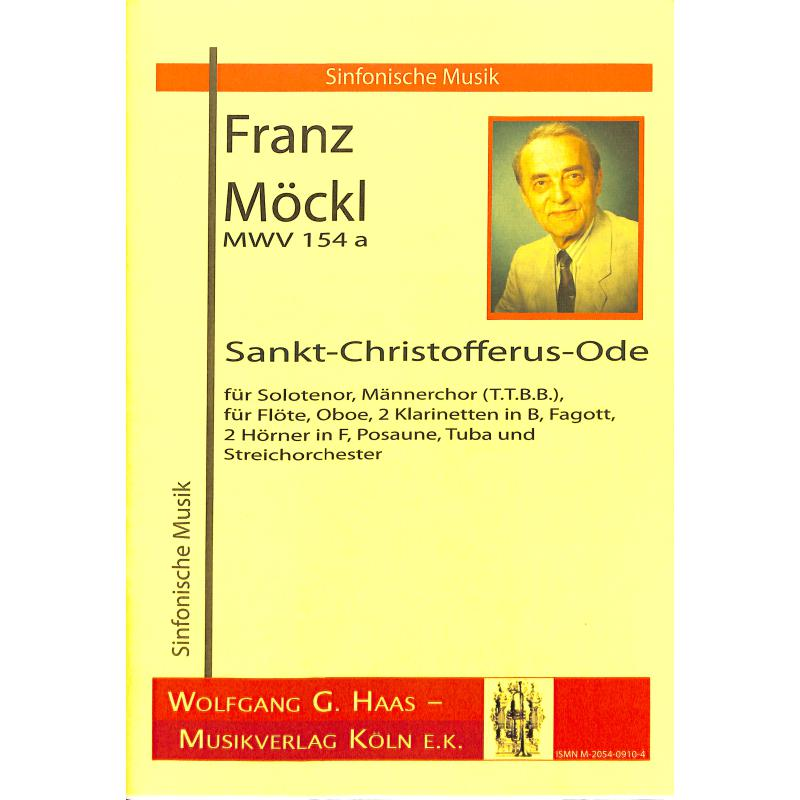 Titelbild für HAAS 0910-4 - SANKT CHRISTOFFERUS ODE MWV 154A