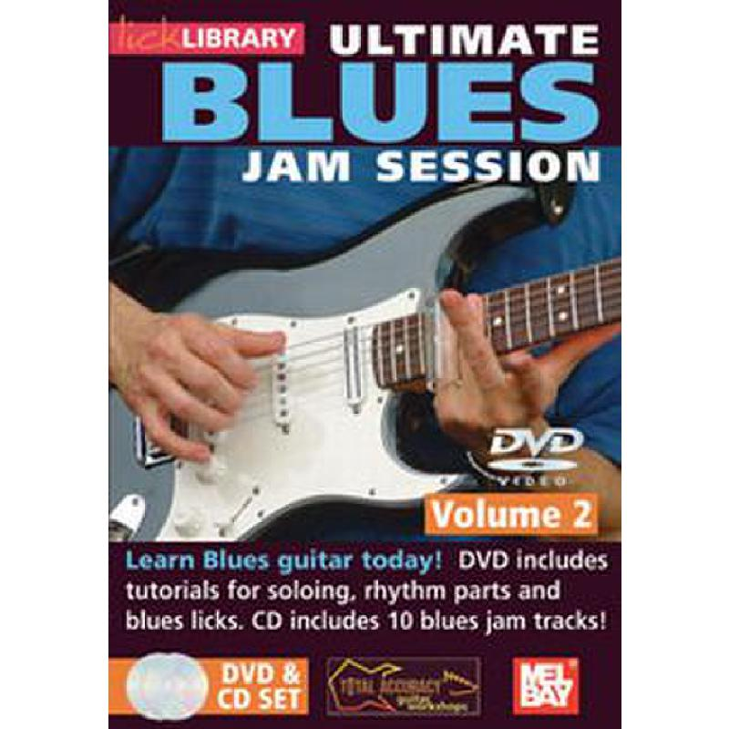 Titelbild für RDR 0076 - ULTIMATE BLUES JAM SESSION 2