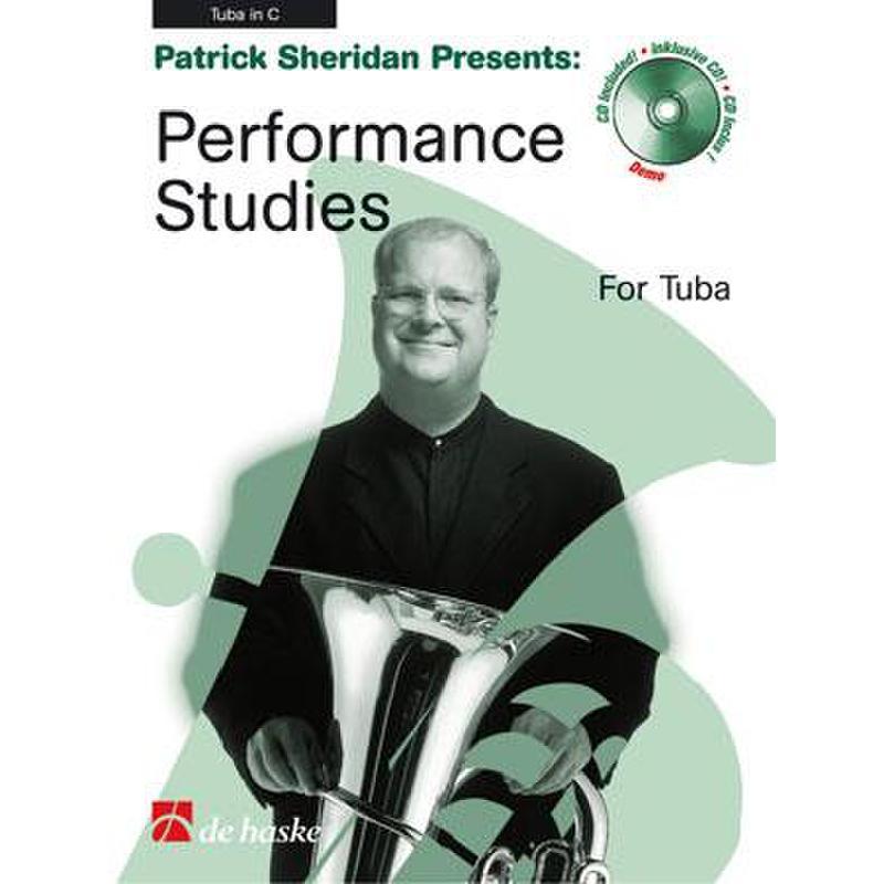 Titelbild für HASKE 1043739 - PERFORMANCE STUDIES FOR TUBA