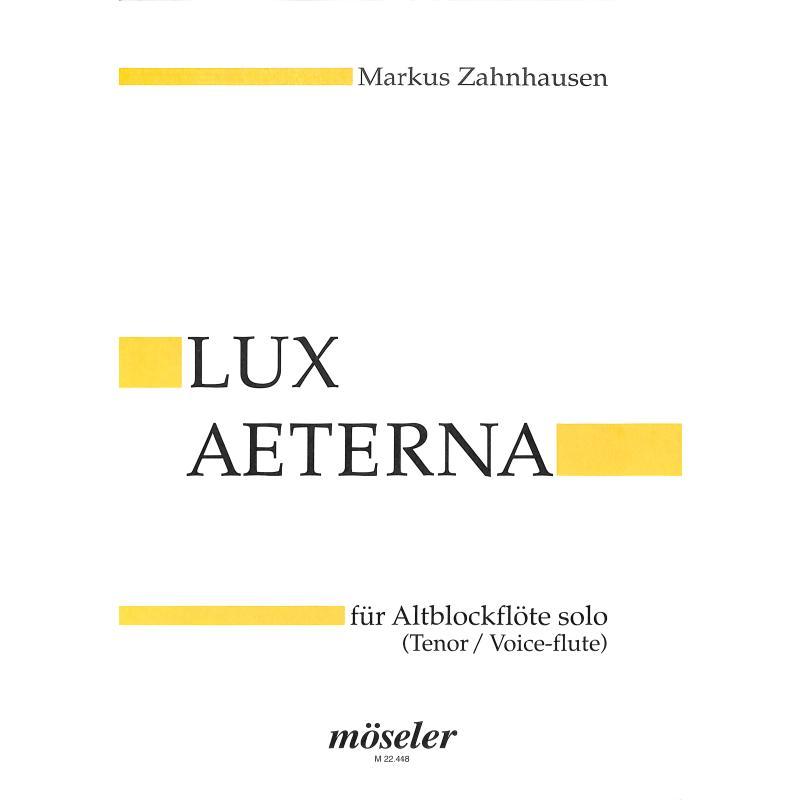 Produktinformationen zu LUX AETERNA M 22448