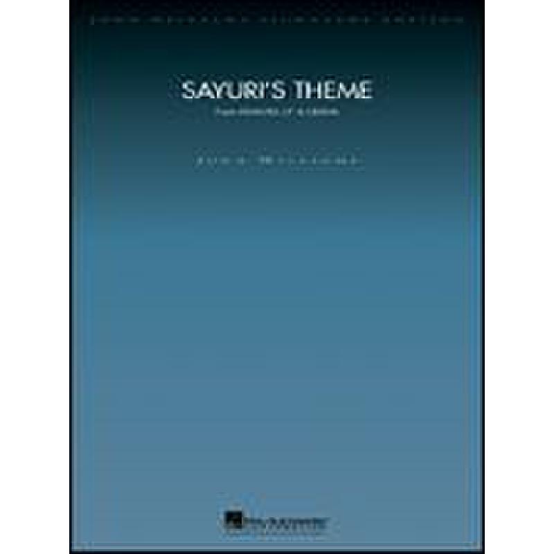 Titelbild für HL 4490561 - SAYURI'S THEME (MEMOIRS OF A GEISHA)