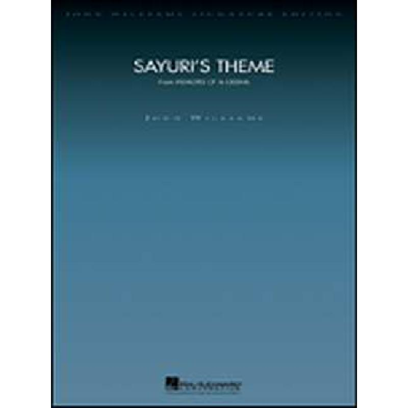 Titelbild für HL 4490562 - SAYURI'S THEME (MEMOIRS OF A GEISHA)