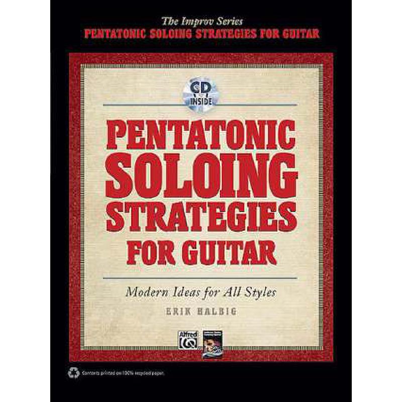 Titelbild für ALF 35302 - PENTATONIC SOLOING STRATEGIES FOR GUITAR