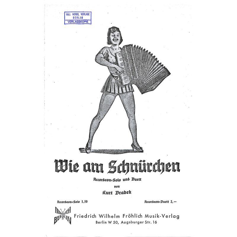 Titelbild für FWF 657-2AKK - WIE AM SCHNUERCHEN