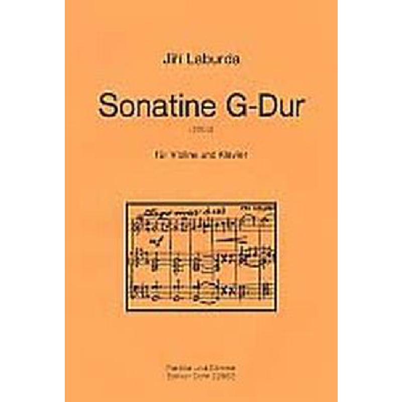 Titelbild für DOHR 22962 - SONATINE G-DUR (2000)