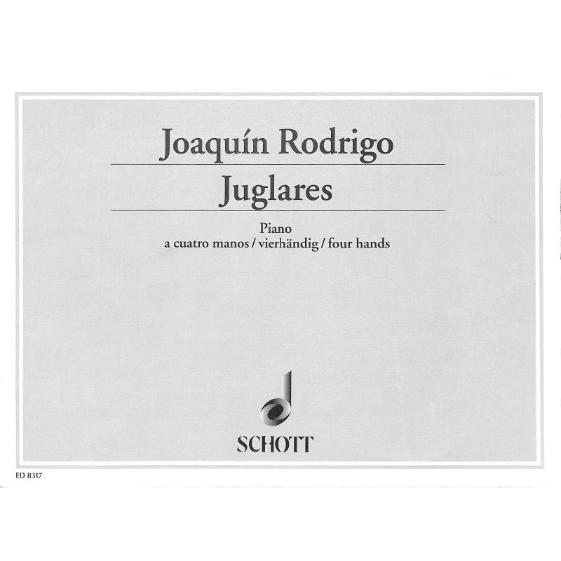 Titelbild für ED 8317 - JUGLARES