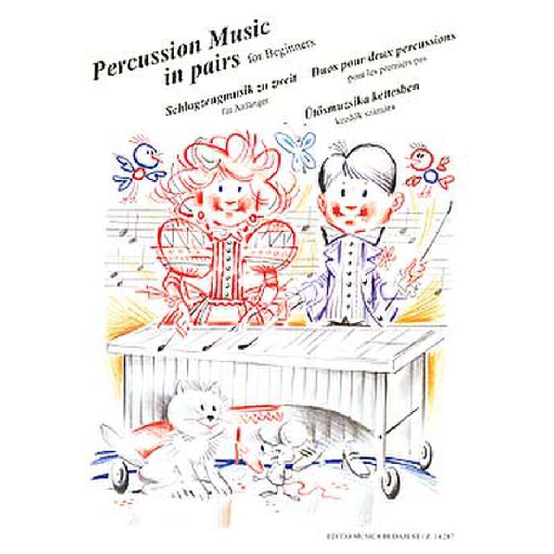 Titelbild für EMB 14287 - PERCUSSION MUSIC IN PAIR
