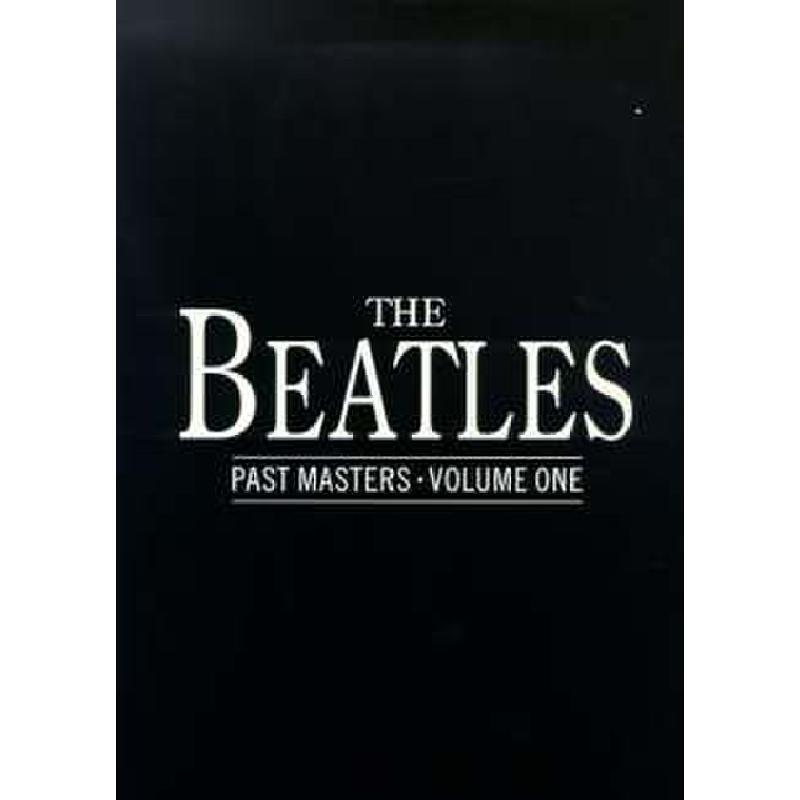 Titelbild für MSNO 90640 - PAST MASTERS 1 (BLACK BOOK)