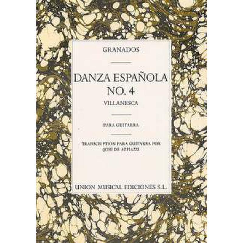 Titelbild für UMG 98014 - VILLANESCA (DANZA ESPANOLA 4)